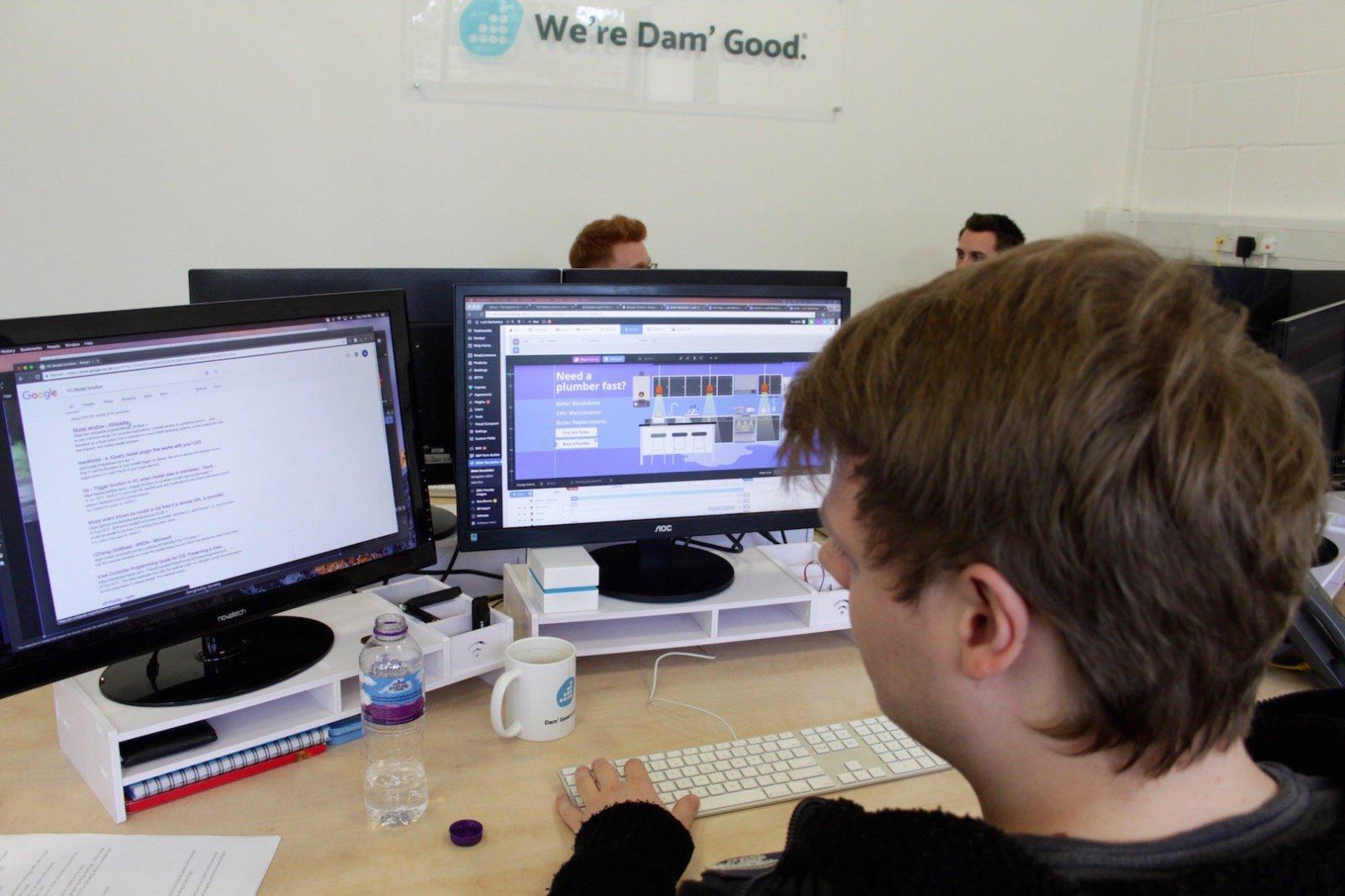 Wordpress Website Design by Damteq Developer