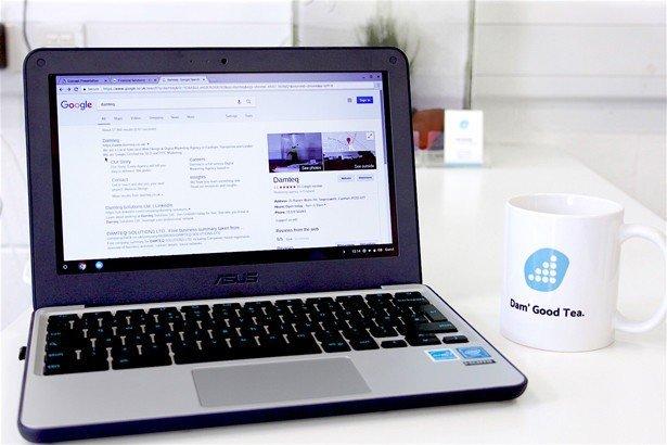 Damteq SEO Search Engine Optimisation Services SERP