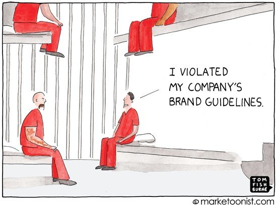 Brand Guidelines Cartoon
