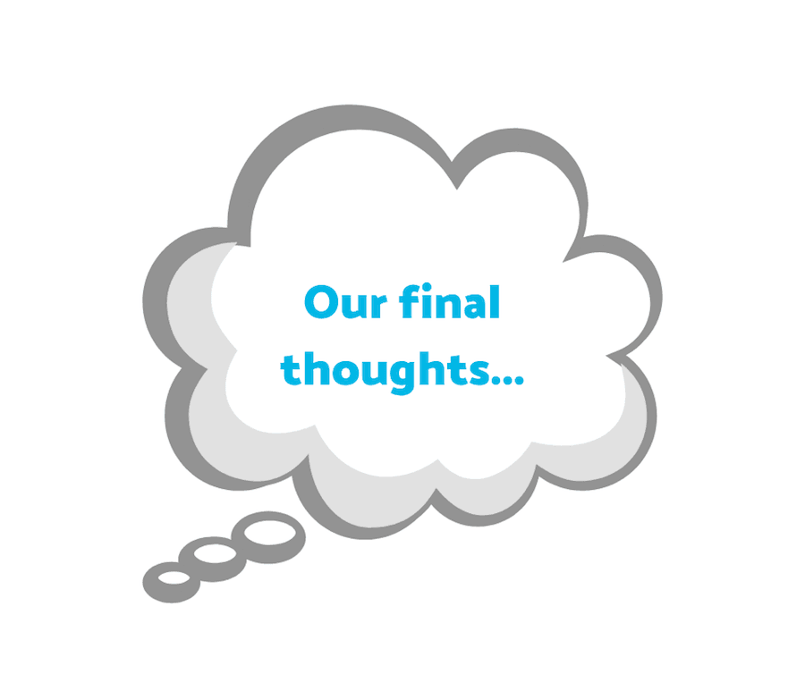Our final thoughts... - Digital Marketing Agency